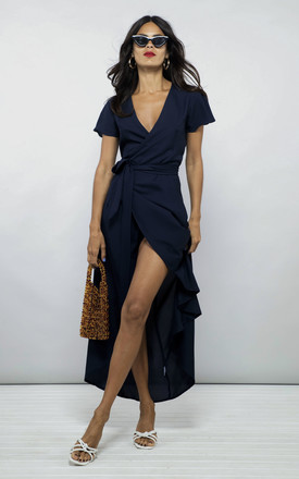 Cayenne Dress In Navy by Dancing Leopard Product photo