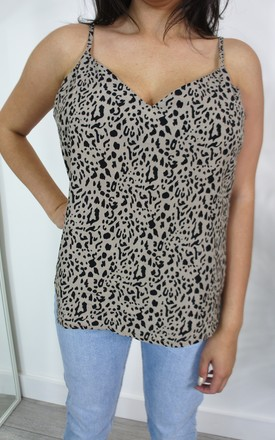 Piper Leopard Print Cami Top by Your Wardrobe