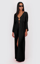 Diana Maxi Kaftan in black by Bullet