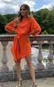 Orange Emy Floaty Sleeveless Dress by Rag & Doll