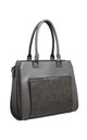 CROC PRINT PRONT POCKET TOTE by BESSIE LONDON