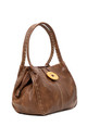 Bessie Button Bag BROWN by BESSIE LONDON