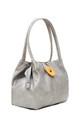 Bessie Button Bag SILVER by BESSIE LONDON