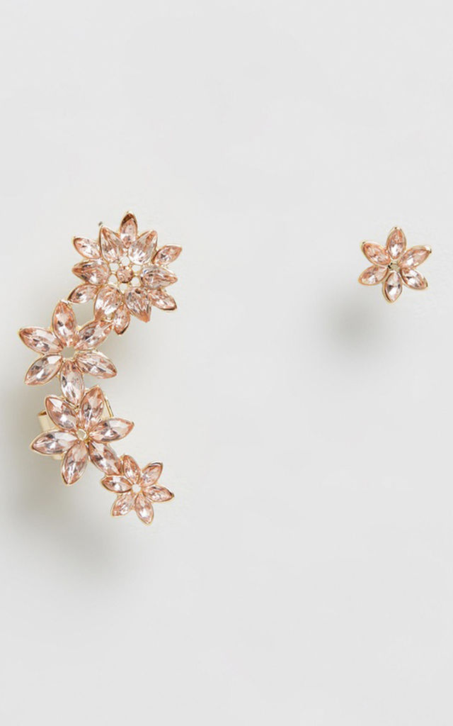 Blush Jewel Statement & Stud Earring Set by Johnny Loves Rosie