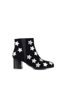Gloucester Star Ankle Boots in Black by Yull Shoes