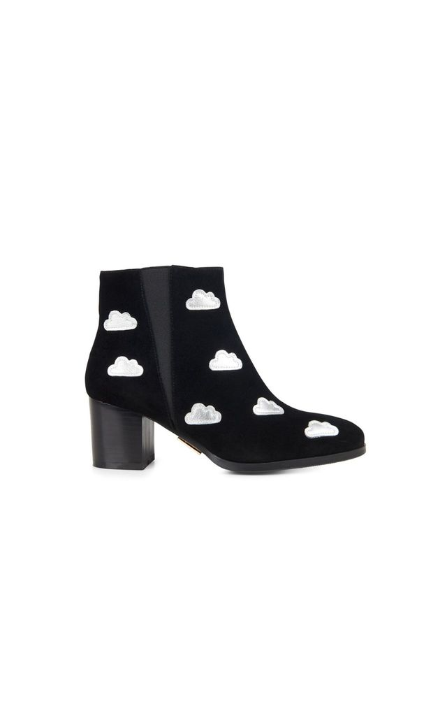 Gloucester Cloud Ankle Boots in Black by Yull Shoes