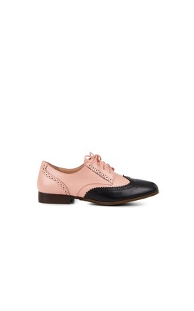 Brighton Brogues in Pink by Yull Shoes