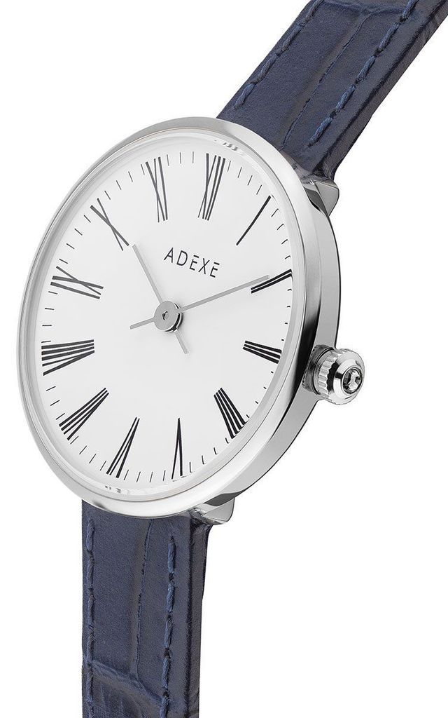 Mini Sistine Watch in Blue/Silver by ADEXE Watches
