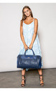 LADY TRAVEL BAG in BLUE by BESSIE LONDON