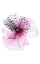 RIA Fascinator in Pink and Black by Ruby Rocks Boutique