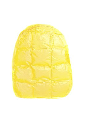 90's Yellow Bubble Backpack by SVNX