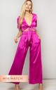 CHINCHILLA PANT IN MAGENTA by Dancing Leopard