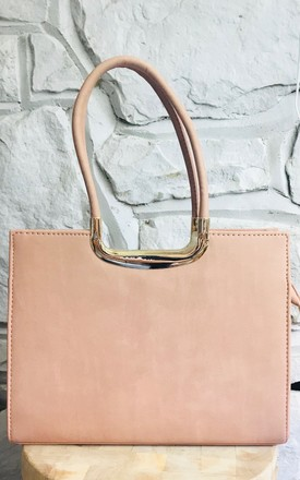 Classic Tote Bag in Light Pink by Pink Lemonade Boutique