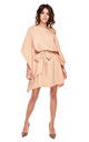 Camel Kimono Style Oversized Dress by By Ooh La La
