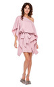 Dark Pink Kimono Style Oversized Dress by By Ooh La La