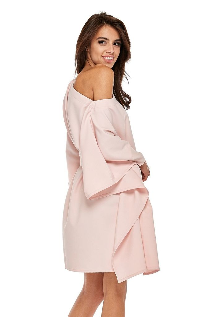 Pink Kimono Style Oversized Dress by By Ooh La La
