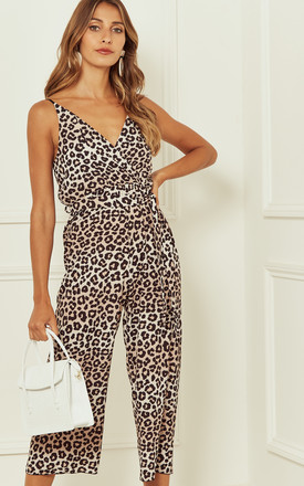 Leopard Jumpsuit by Bella and Blue Product photo