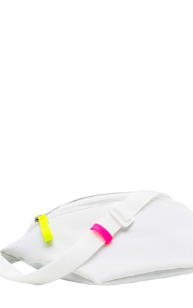 Bumbag in White/Neon Yellow & Pink by BOO