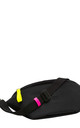 Bumbag in Black/Neon Yellow & Pink by BOO