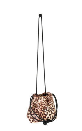 Micro Boo Drawstring Bag in Leopard Print by BOO