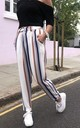 Harper High Waisted Trousers in Candy Stripes by Libby Loves