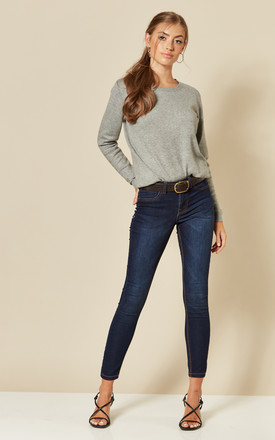 Regular Jeggings In Dark Blue by JDY Product photo