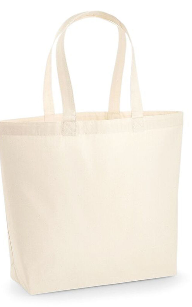 Independent woman lip tote bag in cream by Sade Farrell