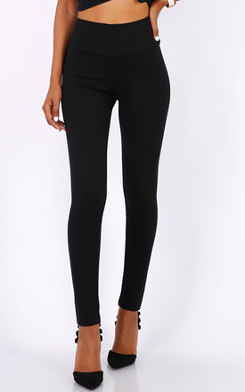 High Waisted Leggings in Black by FreeSpirits