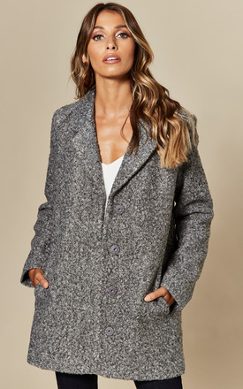 Wool Coat In Grey by VILA Product photo