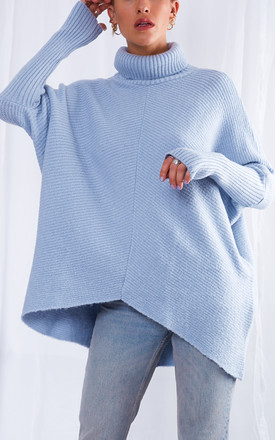 Callie Knit Jumper   Blue by Pretty Lavish Product photo