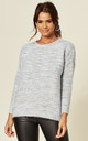 Mohair Effect Jumper in Baby Blue by CY Boutique