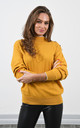 Mustard High Neck Jumper by Lucy Sparks