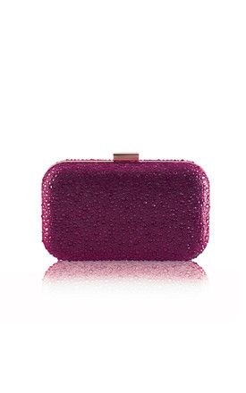 Sammy Berry Diamante Box Clutch Bag by Perfect Shoes Product photo