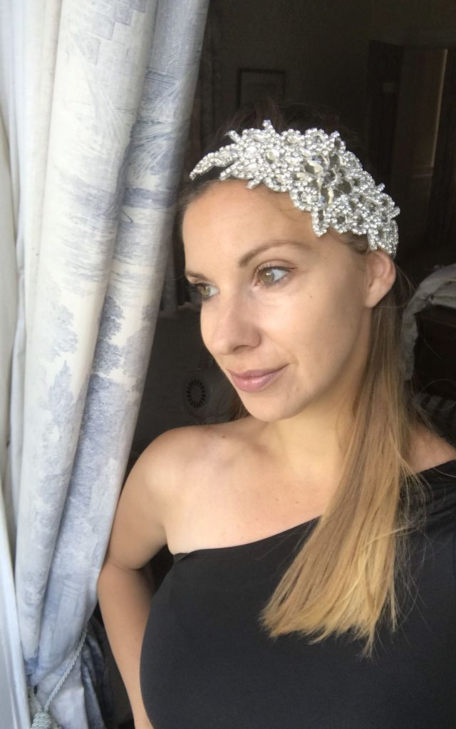 Vintage Style Headband with Diamantes & Crystals by TwisT Fashion