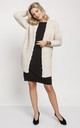 Fashionable Cardigan with Elegant Finish in Beige by MKM Knitwear Design