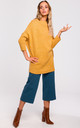 Oversized Turtleneck Jumper in Yellow by MOE