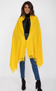Oversized Merino Wool Pashmina Scarf in Inca Yellow by likemary