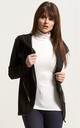 Sasha Jacket in Black with Contrast Piping by Oops Fashion