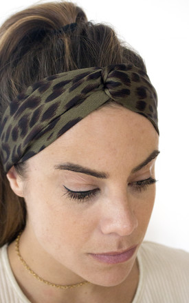 ANNIE Green Silky Headband by GIRL ALLIANCE