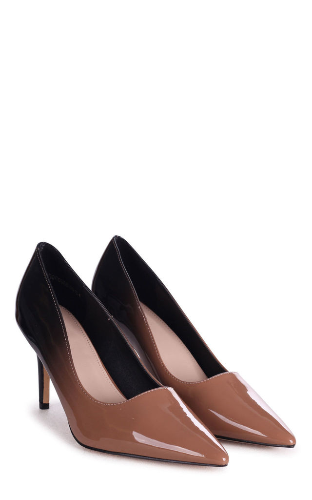 Fairground Pointed Court Shoe in Ombre by Linzi