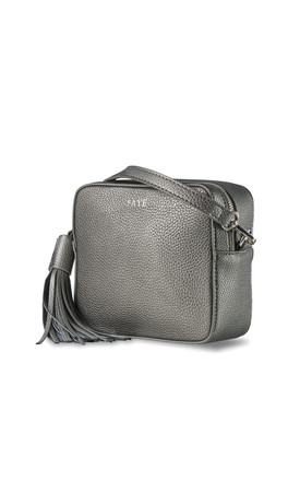 Gunmetal Grey Cross Body Bag by ThreeSixFive Product photo