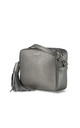 Gunmetal Grey Cross Body Bag by ThreeSixFive