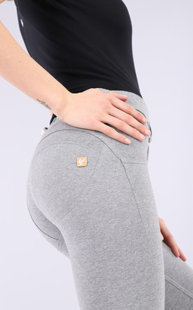 Mid Waist Freddy Trousers In Melange Grey by Freddy Product photo