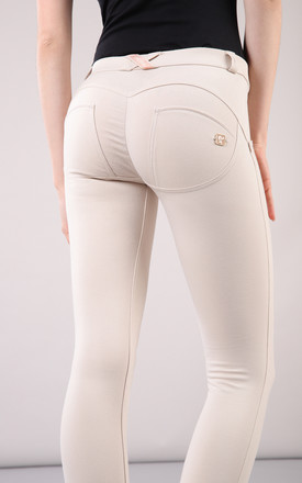 Mid Waist Freddy Trousers In Ivory by Freddy Product photo