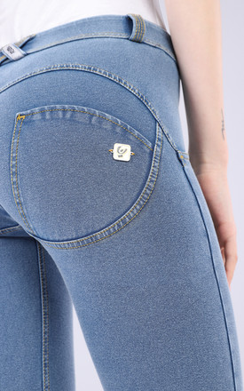 Mid Waist Freddy Jeans In Light Denim Effect by Freddy Product photo