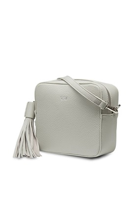 Stone Grey Cross Body Bag by ThreeSixFive Product photo