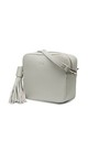 Stone Grey Cross Body Bag by ThreeSixFive