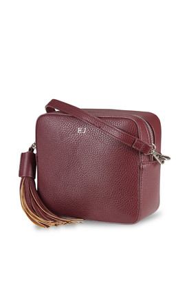 Maroon Cross Body Bag by ThreeSixFive Product photo