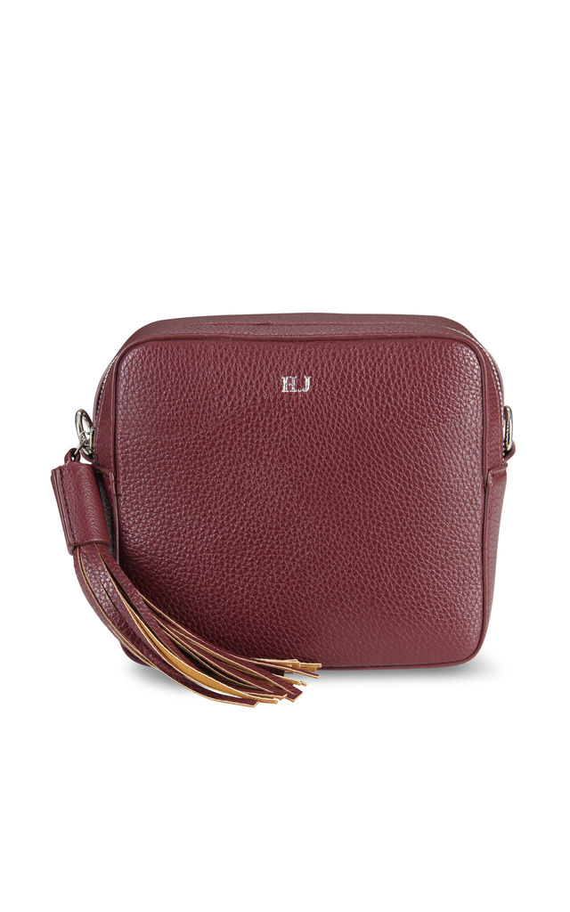 Maroon Cross Body Bag by ThreeSixFive