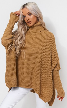 Oversized Mustard Jumper by The Fashion Bible Product photo